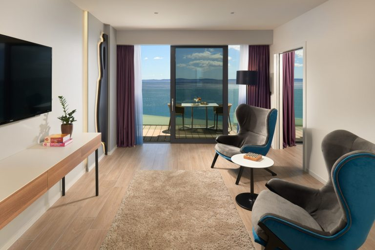VIP executive suite hotel Amphora on Znjan beach in Split Croatia new hotel