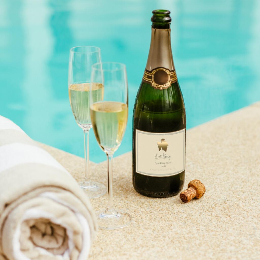 Amphora hotel pool and welcome drink in Split best pools in Croatia