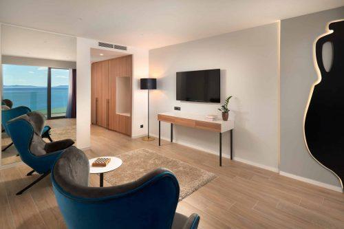 Executive suite luxury accommodation in Split Croatia on the beach
