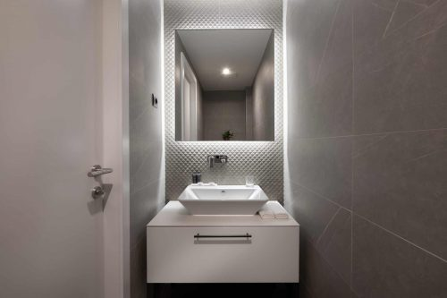 Executive suite small toilete luxury design of hotel Amphora