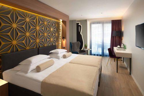 Luxury sstandard room beach hotels in Croatia