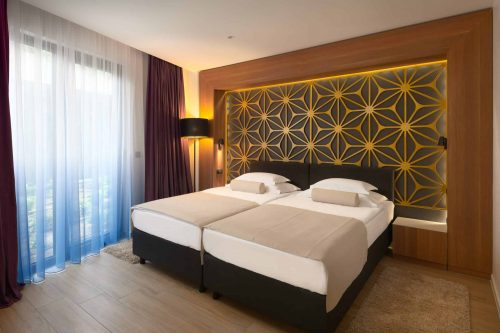Hotels on beach Split Croatia