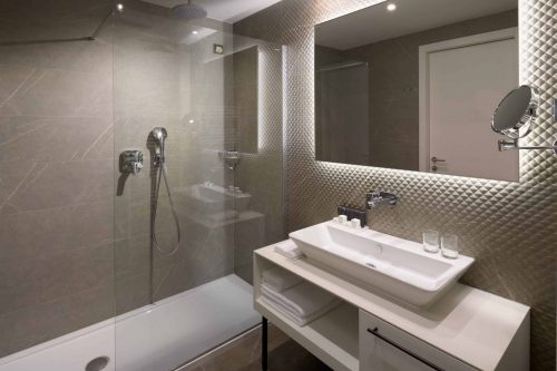 Superior bathroom luxury interior