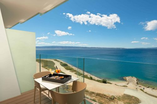 Hotel Amphora Split Croatia accommodation with a sea view