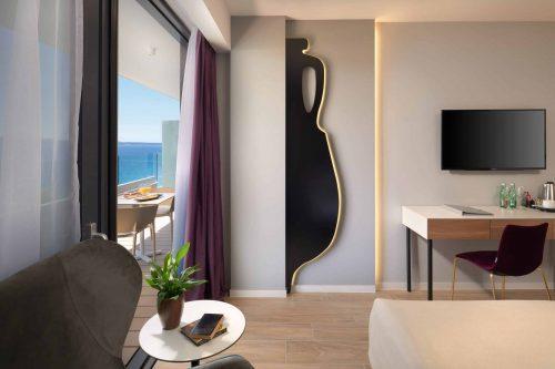 Beach hotel in Split Croatia sea view